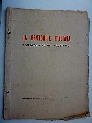 BOLLETTINI TECNICI DELLA BENTONITE ITALIANA E DEI: F. Savelli
