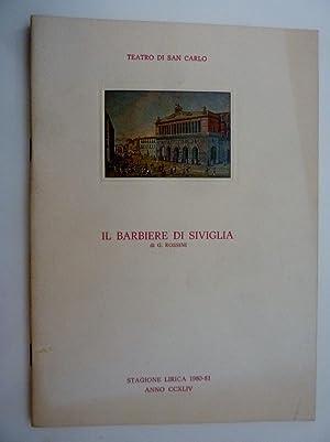 TEATRO SAN CARLO - IL BARBIERE DI: AA.VV.