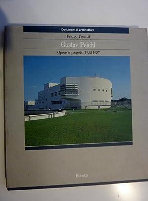 """Collana Documenti di Architettura - GUSTAV PEICHL Opere e progetti 1952 - 1957"""": Franco ..."""