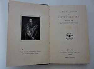 Le più belle pagine degli Scrittori Italiani scelte da scrittori viventi, Collezione diretta da UGO...
