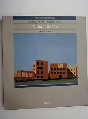 """Documenti di Architettura - VITTORIO DE FEO Opere e progetti"""": Claudia Conforti - Francesco ..."""