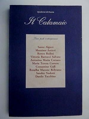 Quaderni di Poesia - IL CALAMAIO Dieci: AA.VV.