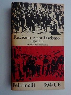 FASCISMO E ANTIFASCISMO ( 1936 -1948 ): AA.VV.