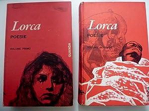 COLLANA FENICE Nuova serie diretta da Giacinto Spagnoletti, saezione poeti - FEDERICO GARCIA LORCA ...