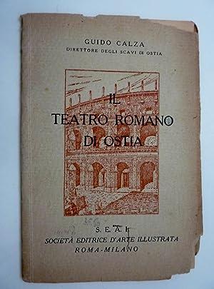 Guido Calza, Direttore degli Scavi di Ostia: Guido Calza