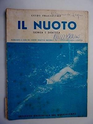 IL NUOTO - Tecnica e Didattica, Pubblicato: Guido Fragiacomo