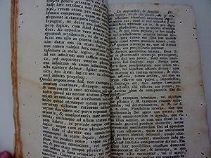 SIGISMUNDI STORCHENAU in Academia Vindobonensi LOGIC. ET: Storchenau Sigismundi