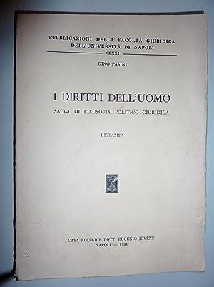Pubblicazioni della Facoltà Giuridica dell'Università di Napoli,: Dino Pasini