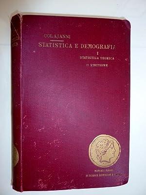 """MANUALE DI STATISTICA TEORICA Seconda Edizione"""": Napoleone Colajanni"""