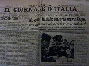IL GIORNALE D'ITALIA - ULTIMA EDIZIONE Anno: AA.VV.