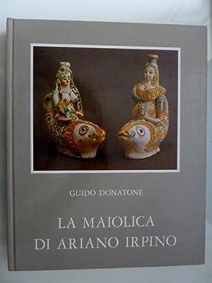 """LA MAIOLICA DI ARIANO IRPINO"""": Guido Donatone"""