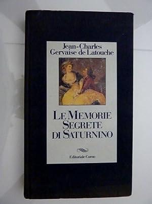 """LE MEMORIE SEGRETE DI SATURNINO"""": Jean Charles Gervaise"""