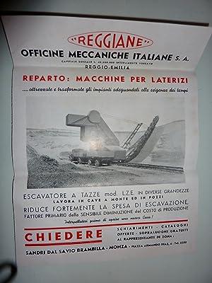 """REGGIANE OFFICINE MECCANICHE ITALIANE S.A. Reggio Emilia"""": AA.VV."""