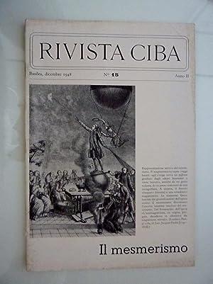 RIVISTA CIBA Basilea, Dicembre 1948 n.° 15: AA.VV.
