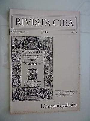 RIVISTA CIBA Basilea, Maggio 1948 n.° 11: AA.VV.