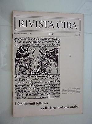 RIVISTA CIBA Basilea, Febbraio 1948 n.° 9: AA.VV.