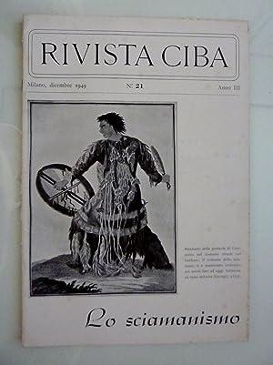 RIVISTA CIBA Milano,dicembre 1949 n.° 21 Anno: AA.VV.