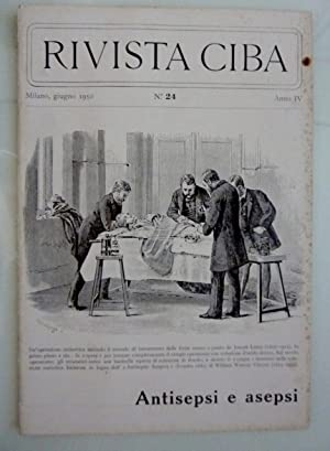 RIVISTA CIBA Milano,giugno 1950 n.° 24 Anno: AA.VV.