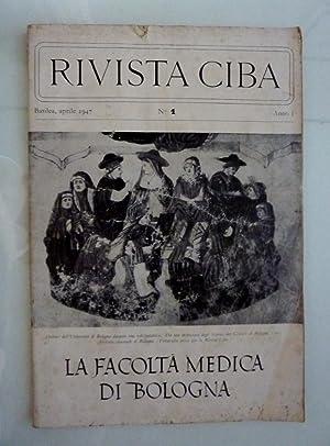 RIVISTA CIBA Basilea, aprile 1947 n.° 1: AA.VV.