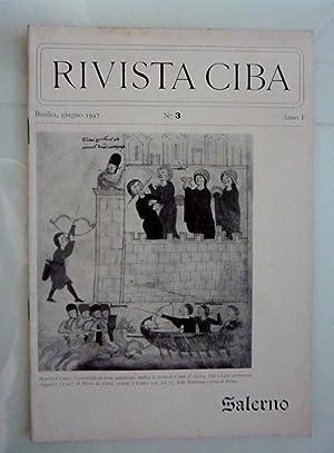 RIVISTA CIBA Basilea, giugno 1947 n.° 3: AA.VV.