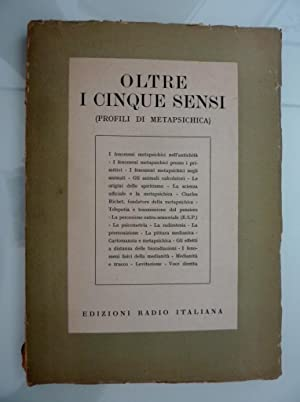 OLTRE I CINQUE SENSI ( Profili di: AA.VV.