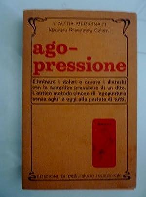 """AGO - PRESSIONE"""": Maurizio Rosenberg Colorni"""