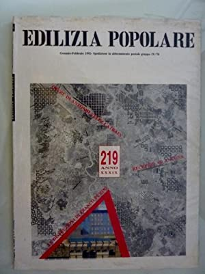EDILIZIA POPOLARE Gennaio / Febbraio 1992 n.°: AA.VV.