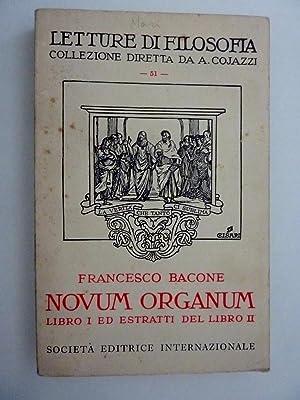 Letture di Filosofia, Collezione diretta da A.: F. Bacone