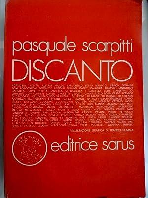 DISCANTO Realizzazione grafica di Francesco Somma: Pasquale Scarpitti