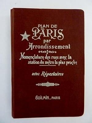 Plan Paris Par Arrondissement Abebooks