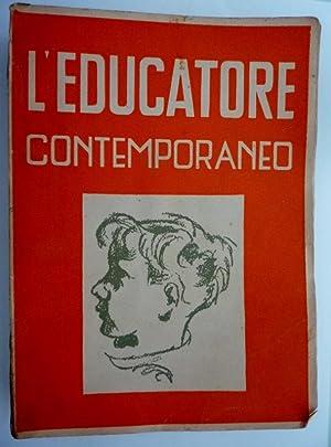L'EDUCATORE CONTEMPORANEO Antologia Storica della Pedagogia, Terza: Marco Agosti e