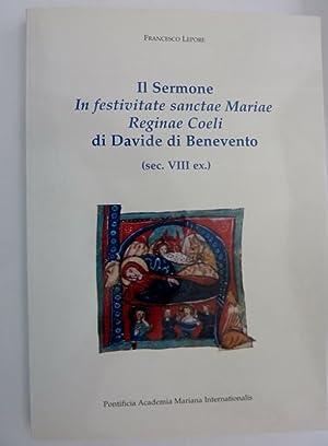 IL SEROMONE IN FESTIVITATAE SANCTAE MARIE REGIANAE: Francesco Lepore
