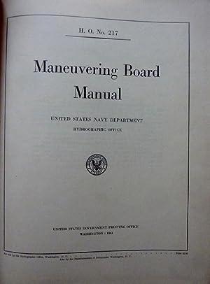 H.O. No. 217 MANEUVERING BOARD MANUAL United: AA.VV.