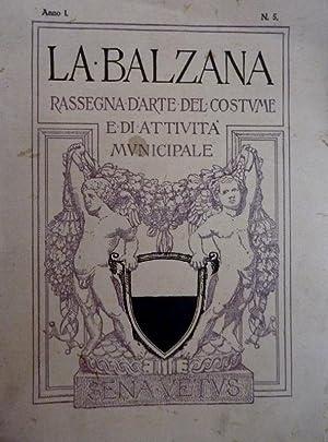 LA BALZANA RASSEGNA D'ARTE SENESE E DEL: AA.VV.