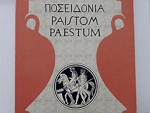 POSEIDONIA, PAISTOM, PAESTUM Soprintendenza Archeologica di Salerno: AA.VV.