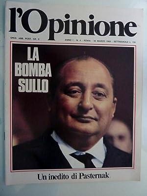 L'OPINIONE Anno I n.° 4, 30 Marzo: AA.VV.