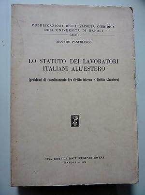 Pubblicazioni della Facoltà Giuridica dell'Università di Napoli,: Massimo Panebianco