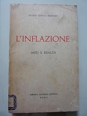 L'INFLAZIONE MITI E REALTA': Guido Zerilli Marimò