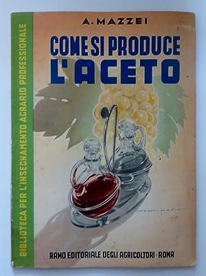 Biblioteca per l'Insegnamento Agrario Professionale COME SI: Dott. Alfredo Mazzei