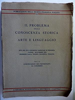 Pubblicazioni della Società Filosofica Italiana, III IL: AA,.VV.