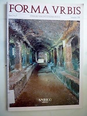 FORMA URBIS Anno I n.° 9 Itinerari: AA.VV.