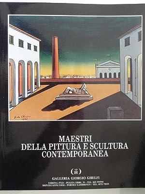 MAESTRI DELLA PITTURA E SCULTURA CONTEMPORANEA Galleria: AA.VV.