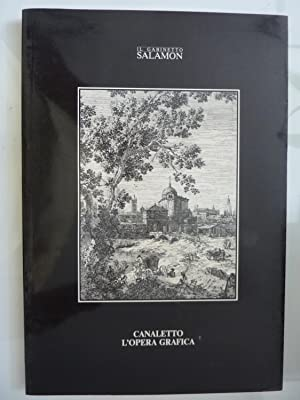 IL GABINETTO SALAMON - CANALETTO L'OPERA GRAFICA: Silvia dell'Orso