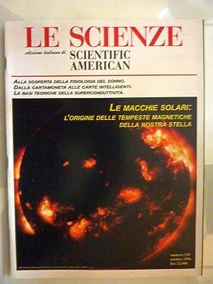 LE SCIENZE Edizione italiana di SCIENTIFIC AMERICAN: AA.VV.