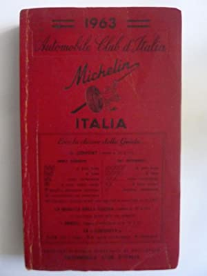 Automobil Club d'Italia MICHELIN ITALIA 1963