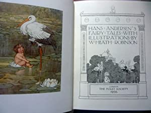 HANS ANDERSEN FAIRY TALES With illustrations by W. Hearh Robinson
