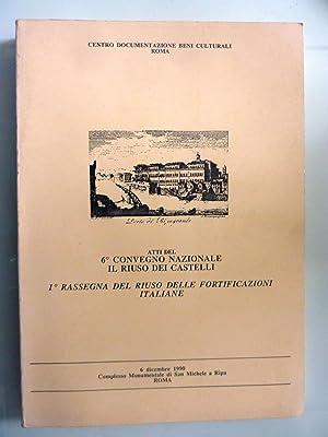 Centro Documentazione Beni Culturali ATTI DEL 6°: AA.VV.