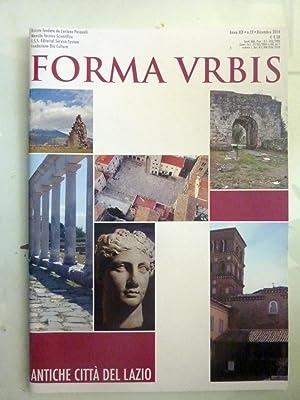FORMA URBIS Anno XIX n.° 12 Dicembre: AA.VV.