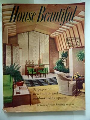 HOUSE BEAUTIFUL March 1957 Vol. 99 NO. 3