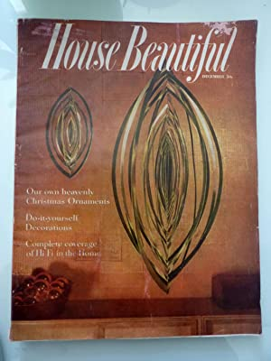 HOUSE BEAUTIFUL December 1955 Vol. 97 NO. 12